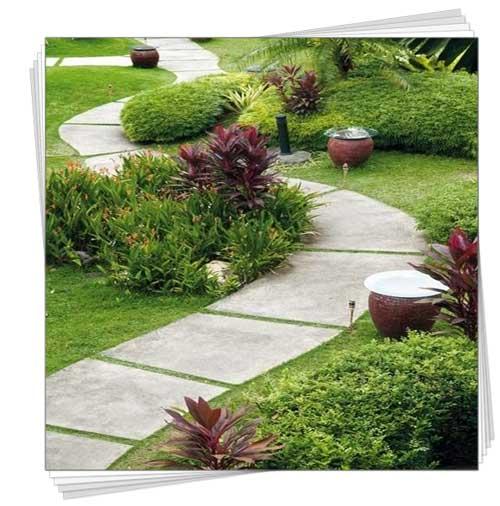 садові доріжки фото