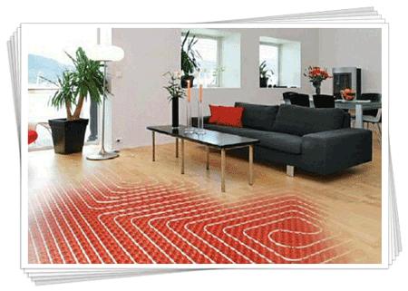 Інфрачервона тепла підлога. фото. відео