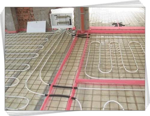 тепла підлога фото