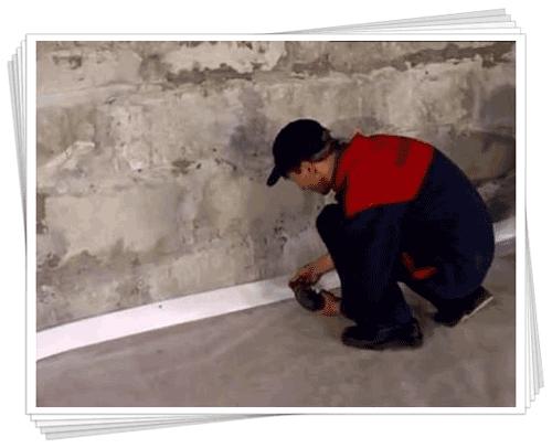 Відео і фото монтаж теплої підлоги