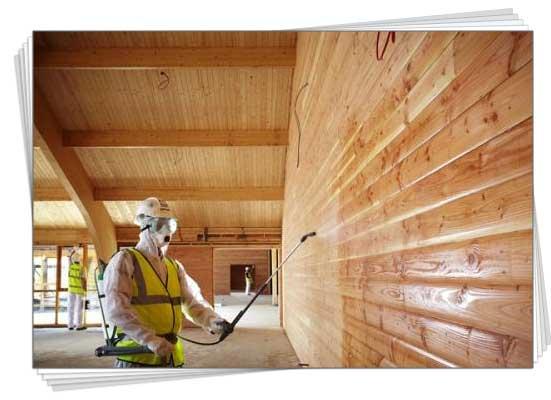 захист деревини від вогню