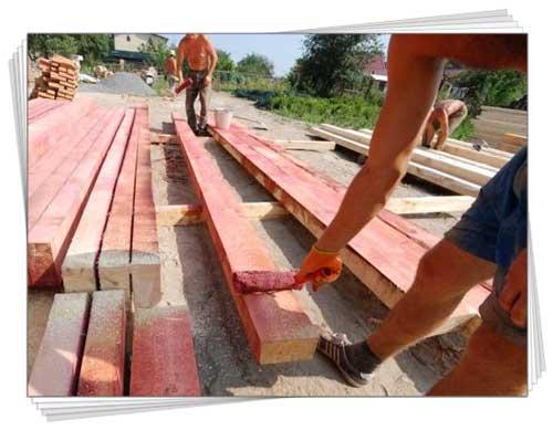 захист деревини будівництво