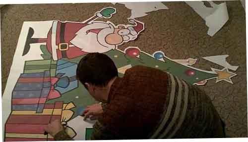 Гайд як із бумаги склеїти новорічну ялинку своїми руками