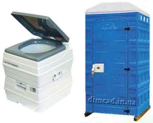 біотуалет для дачі будинку