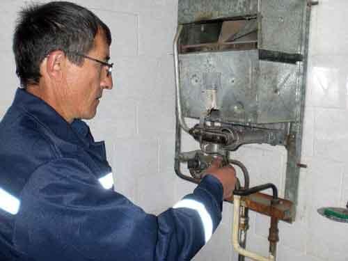 ремонт газової колонки запалюється гасне