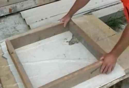 садові доріжки форма для плитки своїми руками