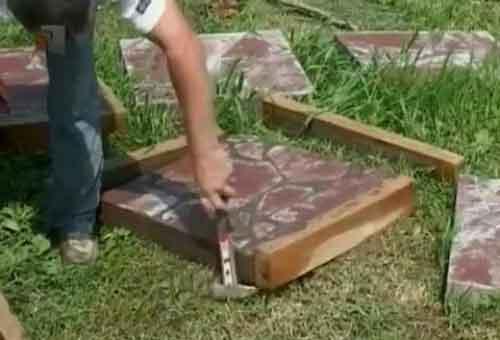 плитка для садових доріжок фото