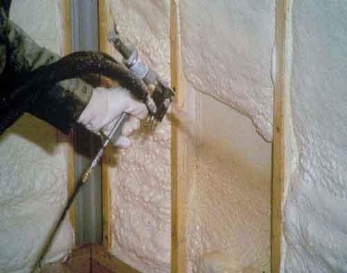 утеплення стін будинку пінополіуретан
