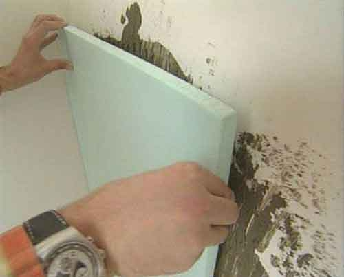 внутрішнє утеплення стін пінопластом фото відео