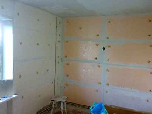 пінопласт для утеплення стін