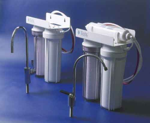 проточний фільтр для очищення води