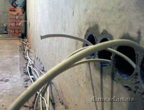 електро проводка монтаж розетки прокладання електропроводки