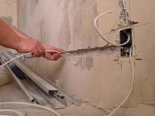Как поменять всю проводку в квартире своими руками 60