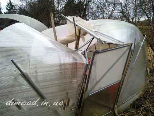 зимові теплиці будівництво теплиць