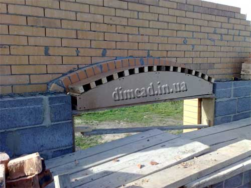 відео арки із кирпича