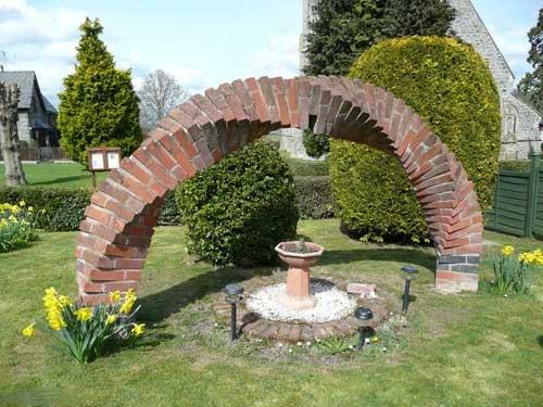 арка із цегли