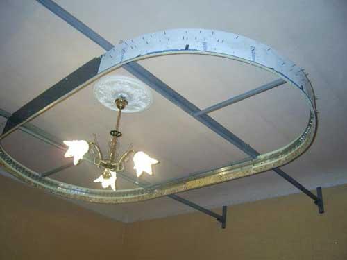 підвісна стеля з гіпсокартону