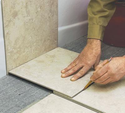 інструкція про укладання плитки на підлогу