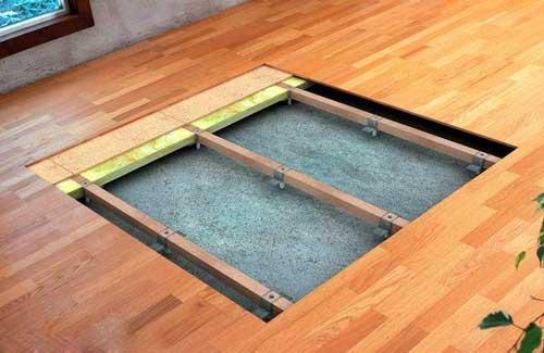 вирівнювання підлоги для укладання ламінату