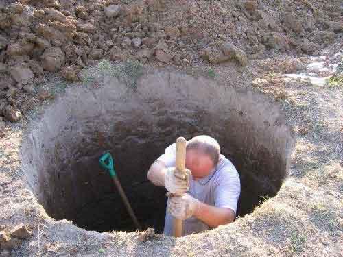 інструкція як викопати колодязь