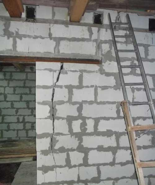 недоліки будинку із газобетону