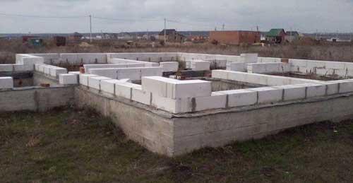 кладка газобетонних блоків