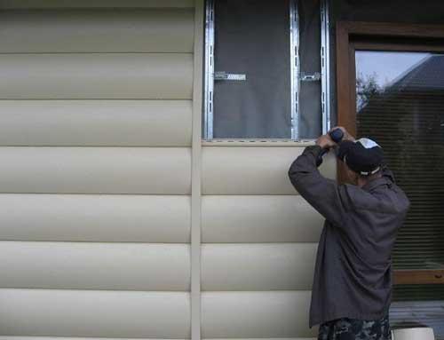 цокольний сайдінг обшивка стін сайдінгом