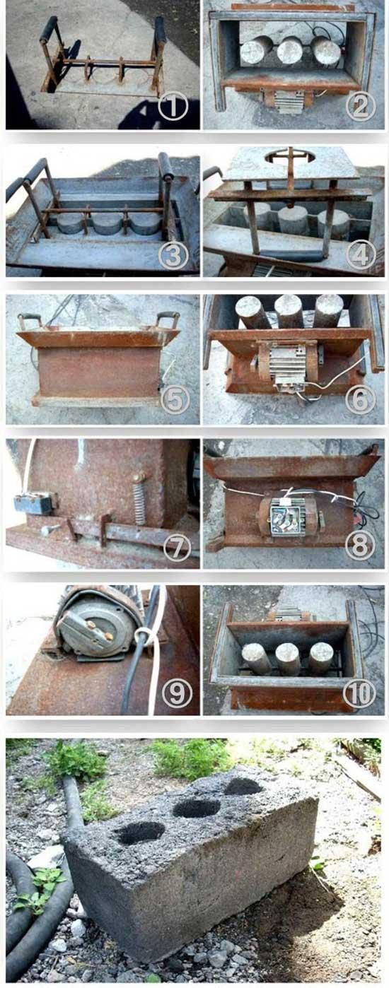 Как сделать станок для изготовления шлакоблоков в домашних условиях - Leo-stroy.ru