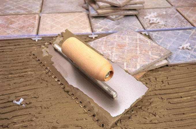 облицювання плиткою