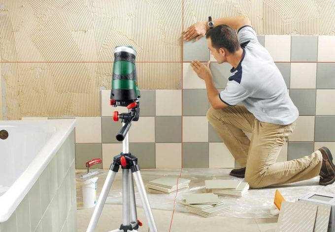 технологія облицювання плиткою