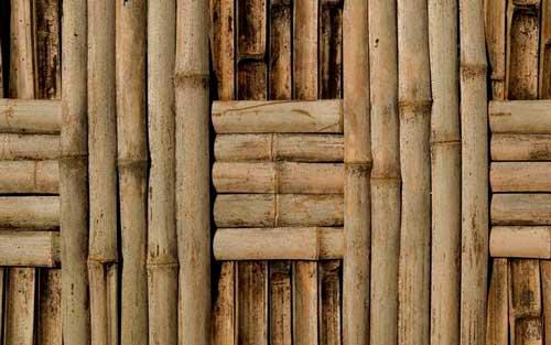 натуральні бамбукові шпалери