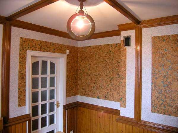 натуральні шпалери приклад оформлення дитячої кімнати