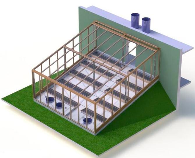 «Проектирование» солнечного вегетария (СВ)
