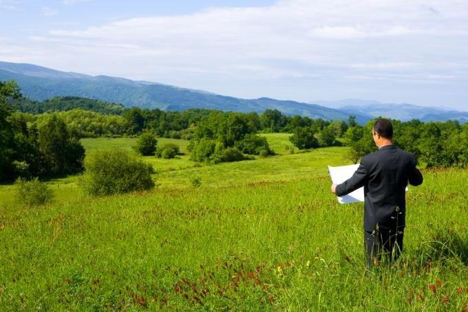 план земельної ділянки під забудову