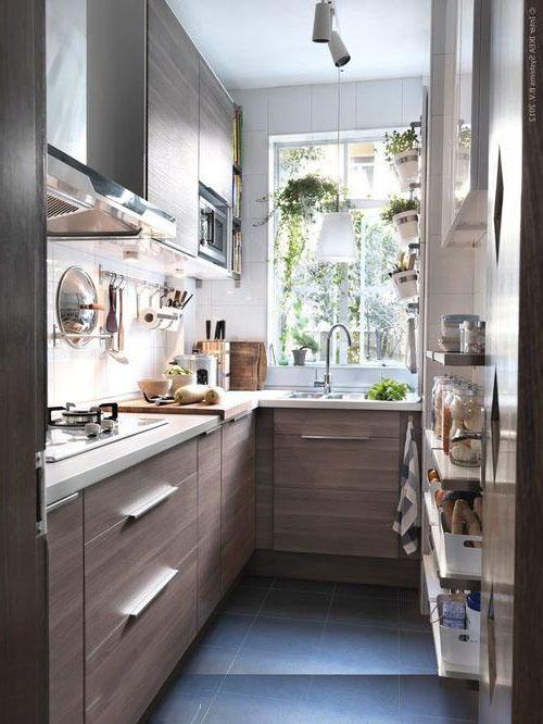 дизайн маленької кухні