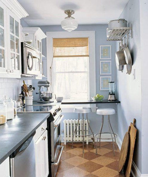 дизайн маленької кухні фото