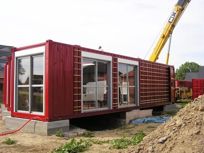 Етапи будівництва будинку з контейнерів