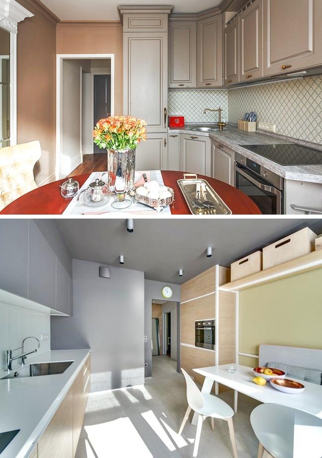фото дизайн маленької кухні