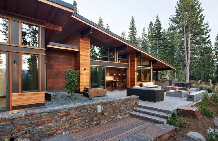 будинок у швейцарському стилі