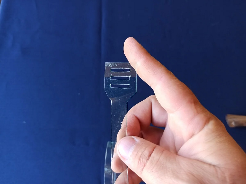 як зробити стяжки із пластикової бутилки